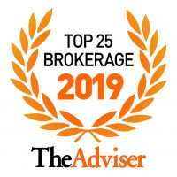 The Advisers Top 25 Brokerages 2019 Seal